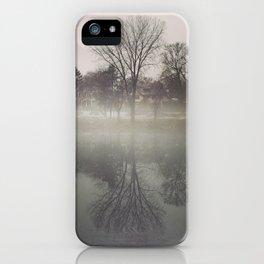 Foggy Mirror iPhone Case