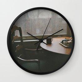 Seattle Blues Wall Clock