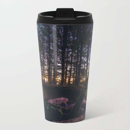 Wooded Tofino Metal Travel Mug
