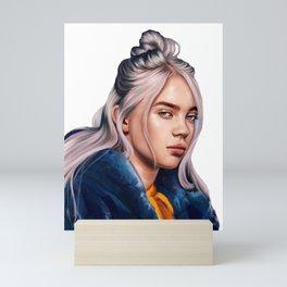Billie Eilish Beautiful Drawing Mini Art Print
