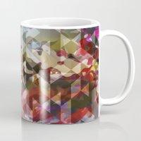 wonderland Mugs featuring Wonderland by Angelo Cerantola