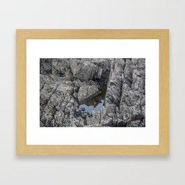 Secret Sky Framed Art Print
