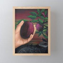 Forbidden Fruit Framed Mini Art Print