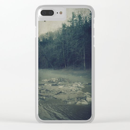 Darkness Prevails Clear iPhone Case