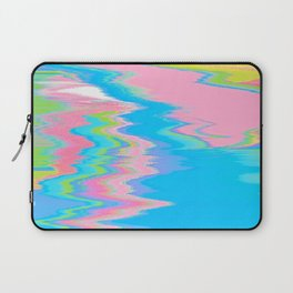 Neon Spill Abstract Laptop Sleeve
