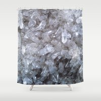 crystal Shower Curtains featuring Crystal by Danielle Fedorshik