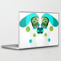 gemini Laptop & iPad Skins featuring Gemini by Akwaflorell
