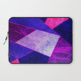 Pink Marble Fracture Laptop Sleeve