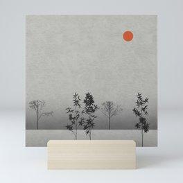 Landscape with Trees Mini Art Print