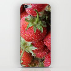 Delicious Strawberries iPhone & iPod Skin