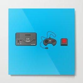 #39 Sega Megadrive Metal Print