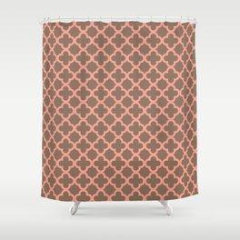 Quatrefoil_1 Shower Curtain