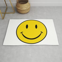 Smiley Happy Face Rug