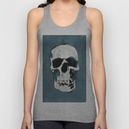 The Sherlock Skull Unisex Tank Top