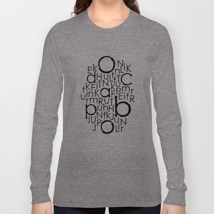 typo Long Sleeve T-shirt