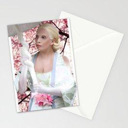 SEASHELL GEISHA Stationery Cards