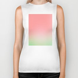 Watermelon Gradient Biker Tank