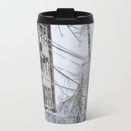 Frozen by Fire Travel Mug