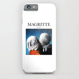 Magritte - The Lovers iPhone Case