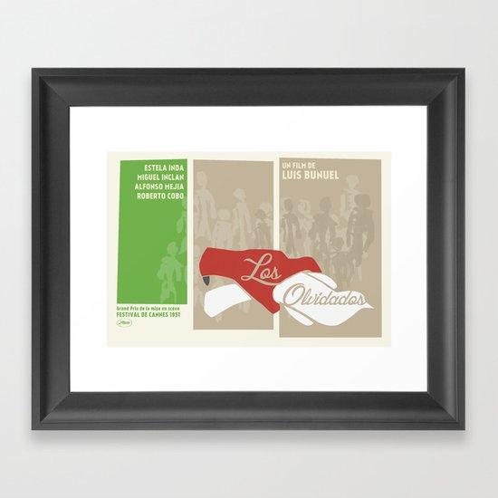 Los Olvidados Framed Art Print