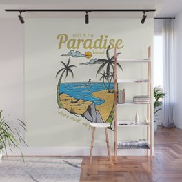 Lost in Paradise Wall Mural