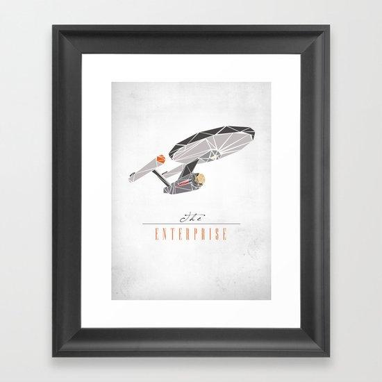 The Enterprise Framed Art Print