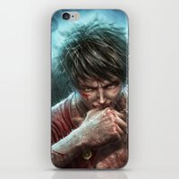 luffy iPhone & iPod Skins featuring Monkey D Luffy by Namko