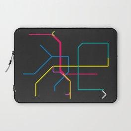 taipei metro map Laptop Sleeve