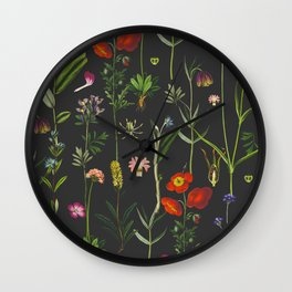 Exquisite Botanical Wall Clock