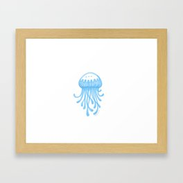 Dreaming of Jellyfish Framed Art Print