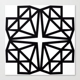 Estrella de copito Canvas Print