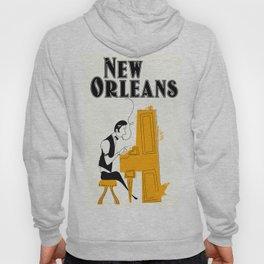 New Orleans honky tonk. Hoody