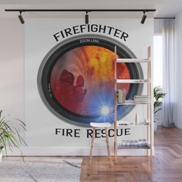 Firefighter rescue Wall Mural