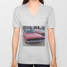 Vintage 1968 Torred MOPAR 426 Hemi Charger Muscle Car Color photography / photographs Unisex V-Neck