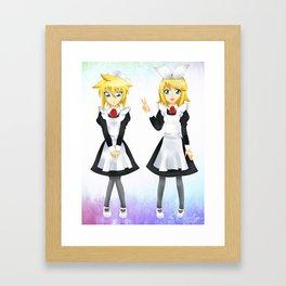 Kagamine Twins Framed Art Print