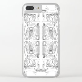 Labyrinth Clear iPhone Case
