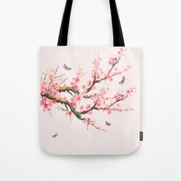 Pink Cherry Blossom Dream Tote Bag