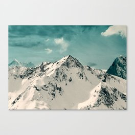 Snow Peak Canvas Print