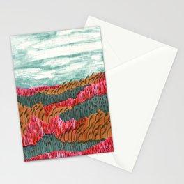 Quiet Place brush pen illustration by Amanda Laurel Atkins Stationery Cards