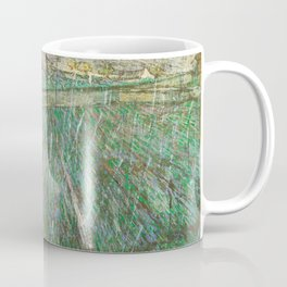 Vincent Van Gogh Wheat Field In Rain Coffee Mug