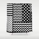 Mixed Patterns (Horizontal Stripes/Polka Dots/Wavy Stripes/Chevron/Checker) by 10813apparel