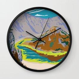 National Parks 2050: Crater Lake Wall Clock