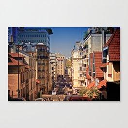 Arrondissement des Gobelins  Canvas Print