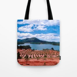 Magic Lake of Central Highland in Vietnam Tote Bag