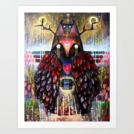 Dreaming Guardian Art Print