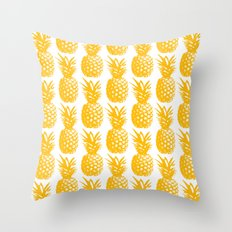 Pineapple Brunch  Throw Pillow