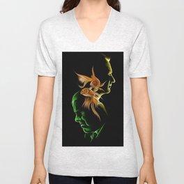 My Goldfish Unisex V-Neck