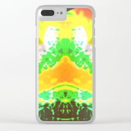 YELLOW EYES Clear iPhone Case