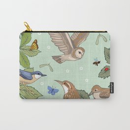 Woodland Birds Carry-All Pouch