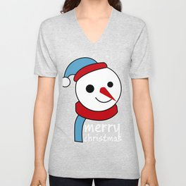 merry christmas vector desiagn Unisex V-Neck